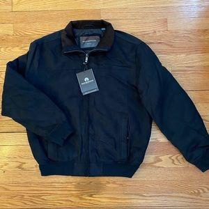 Weatherproof Men's Microsuede Bomber Jacket